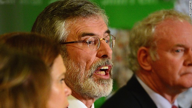 Gerry Adams Fast Facts