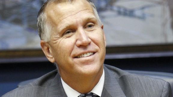 North Carolina GOP Senate candidate Thom Tillis called for a better Washington response to Ebola.