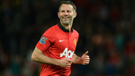 Ryan Giggs retired from football in 2014 after spending his entire 23-year career -- tame in comparison to Miura -- at Manchester United. The Welshman made a club record 963 appearances for United, winning 34 trophies.