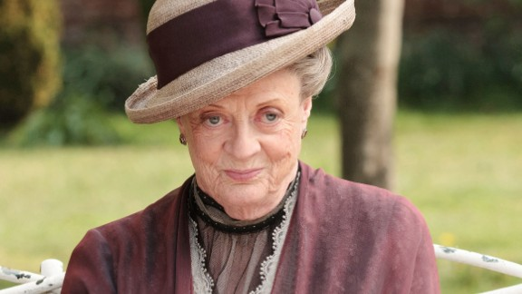"""Downton Abbey"" would be much less entertaining without the cutting Dowager Countess, played by Maggie Smith. There"