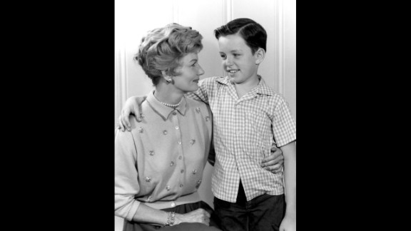Not all moms are as perfect as June Cleaver (Barbara Billingsley, here with Jerry Mathers as the Beaver), but she
