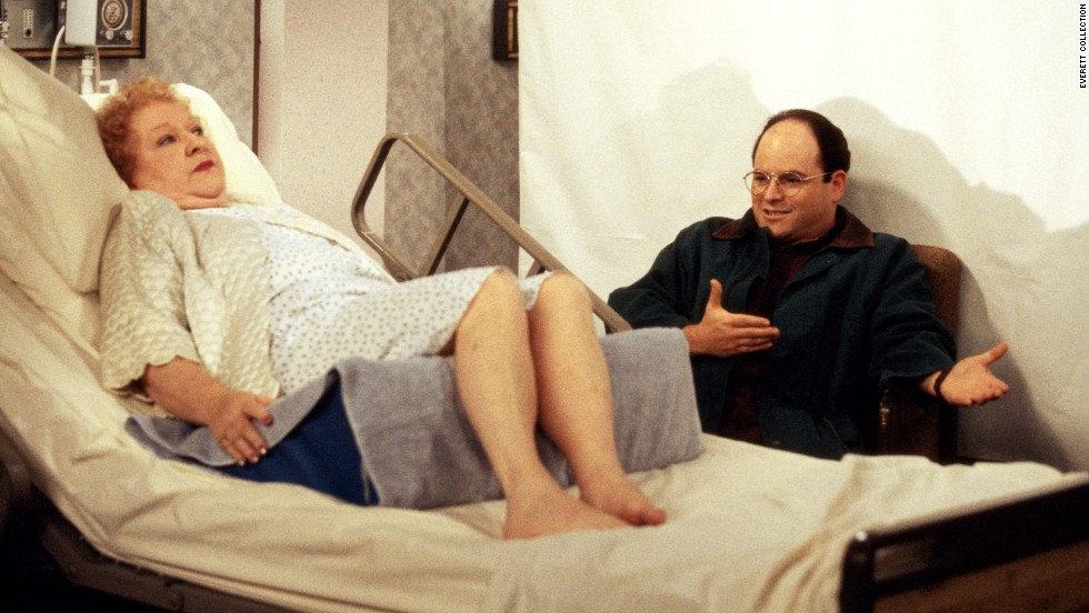 "And Estelle Costanza (Estelle Harris)? She was a perpetual thorn in the side of her son, George (Jason Alexander), on ""Seinfeld."" However, on at least one occasion, he was master of his domain."