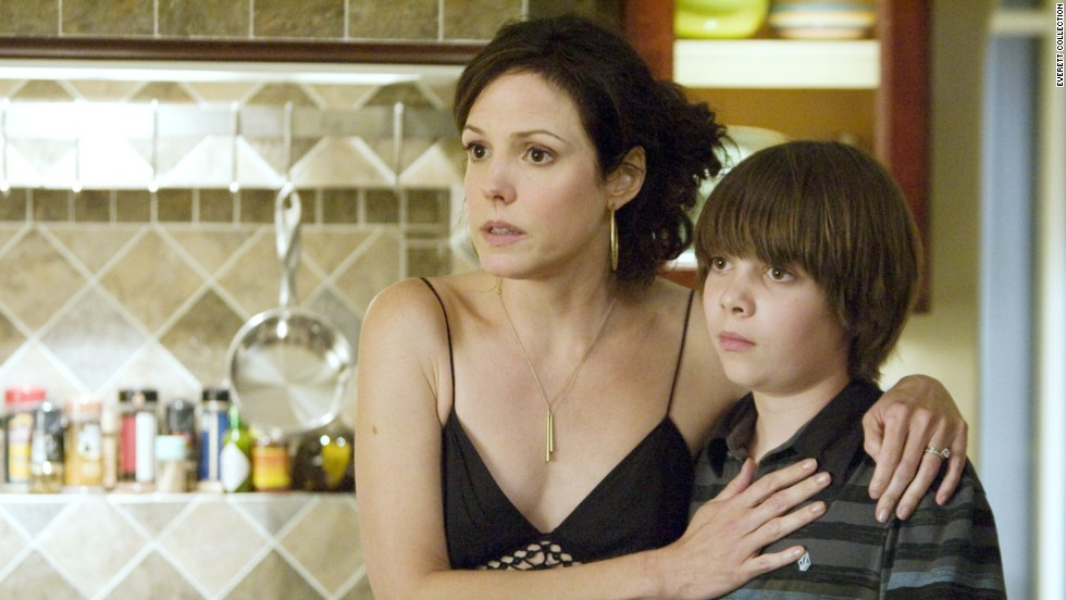 """Weeds' "" Nancy Botwin (Mary-Louise Parker, here with Alexander Gould) bent a few rules to maintain the comfortable lifestyle of herself and her kids. Like selling marijuana and trying to stay out of jail. Hey, it was a living."