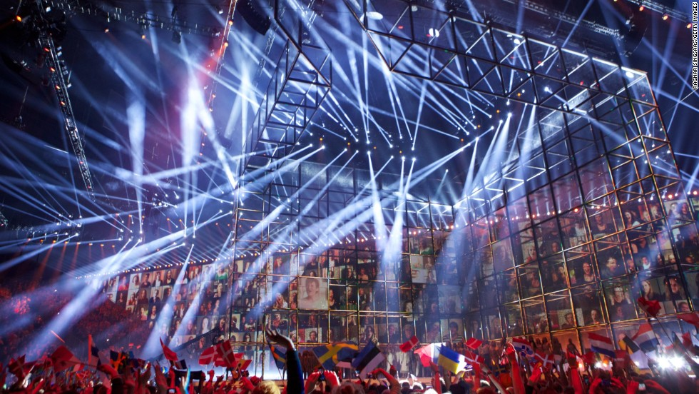 The annual Eurovision contest sees a continent united for a night of high-energy songs, spangled costumes and ill-advised drinking games. This year's Grand Final takes place in Copenhagen on May 10.