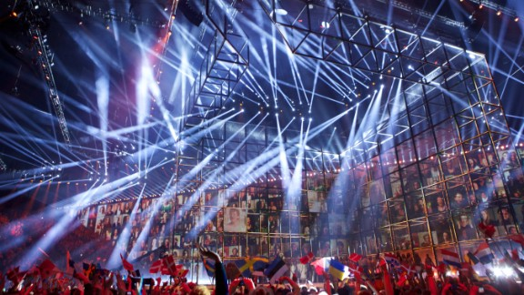 The annual Eurovision contest sees a continent united for a night of high-energy songs, spangled costumes and ill-advised drinking games. This year
