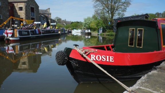 "Now many narrowboats are converted homes, offering an unusual oasis in the heart of the city. ""I like the idea of being in a town but still moving around,"" says Sandra Reddin, who bought a $124,000 houseboat earlier this year."
