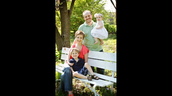 Kovac and her husband Adam are the parents of a son Ethan, 4, and a daughter Taylor, 8 months.