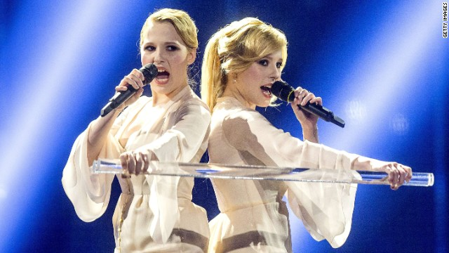 Ukraine and Russia face off at Eurovision