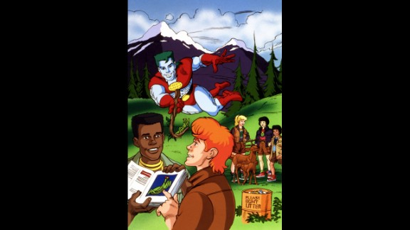 Kwame, the character Burton voiced on the