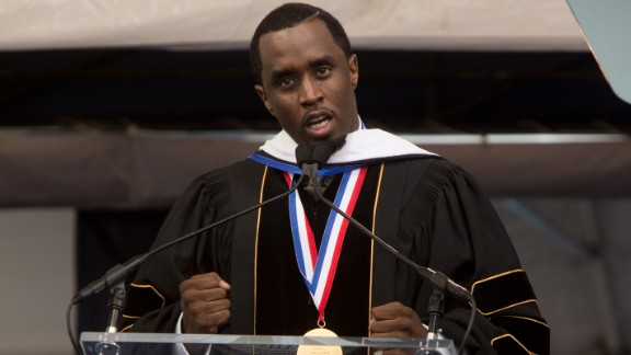 The entrepreneur and entertainment mogul delivers the commencement speech at Howard University on May 10.
