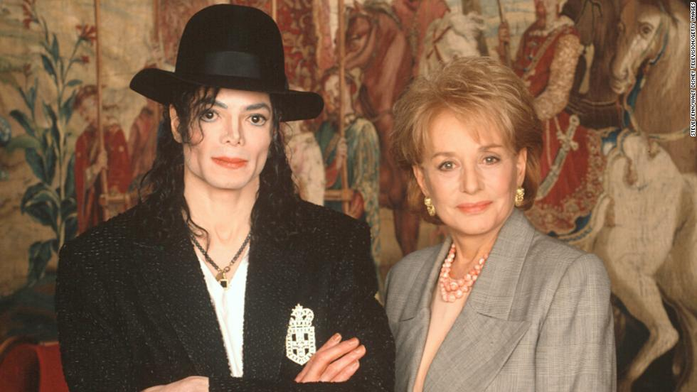 "Michael Jackson spoke to Walters in an exclusive interview about the controversial paparazzi, his experiences with the tabloid press and what it means to be under such intense scrutiny on ""20/20"" on September 12, 1997. Jackson told her the paparazzi have relentlessly pursued him the way they did Princess Diana."