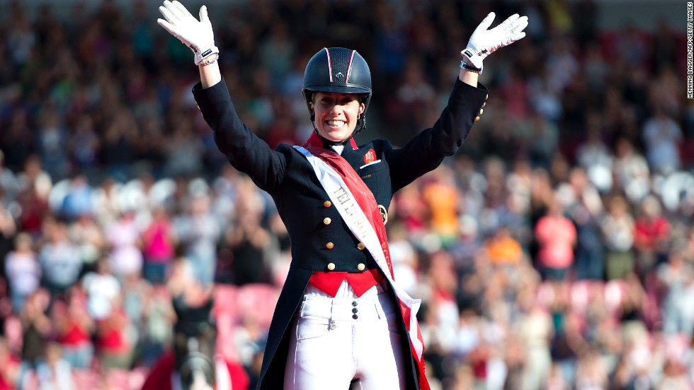 There have been constant fears, though, that their partnership would be split as Valegro was put up for sale by owner Carl Hester.