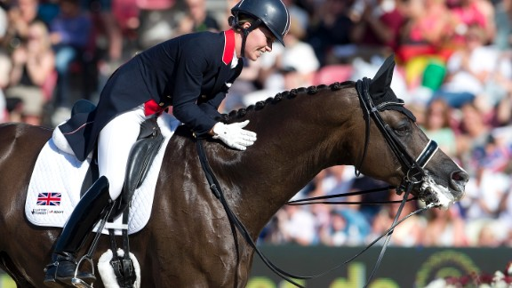 "Dujardin describes the relationship between horse and rider as like a marriage, calling her mount Valegro ""my best friend."""