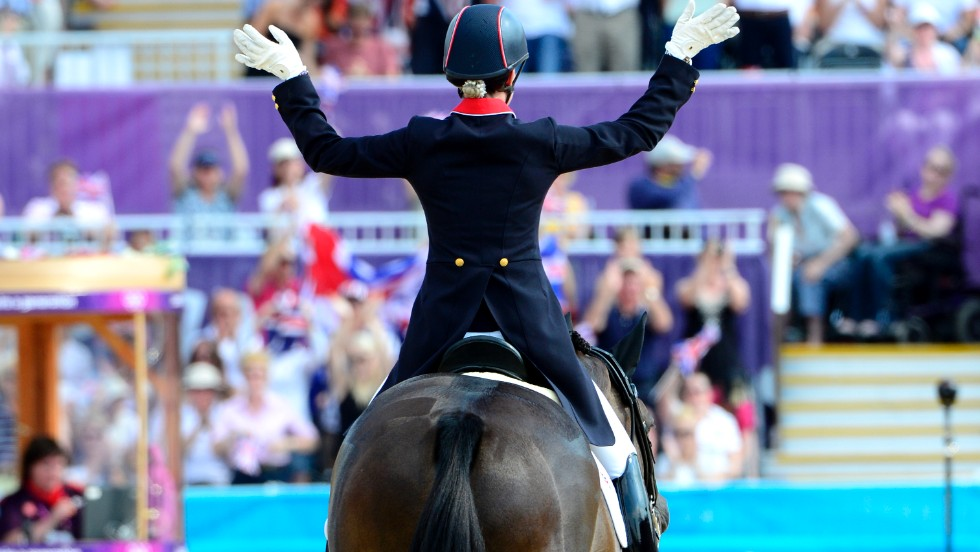But horse and rider look set to ride into the sunset, with Dujardin being told that Valegro will never be sold despite a possible $10 million price tag.