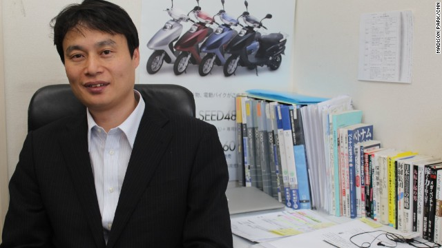 Toru Tokushige, CEO of Terra Motors, says the motorcycle industry needs to evolve more to electric.