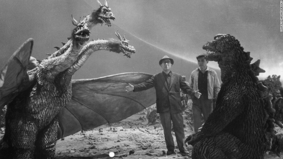 "Eiji Tsuburaya was a visual effects mastermind, and audiences are still reaping the rewards of his genius. As the man behind such classics as ""Godzilla"" and ""Ultraman,"" Tsuburaya is the <a href=""http://www.chroniclebooks.com/titles/eiji-tsuburaya-master-of-monsters-paperback.html"" target=""_blank"">subject of the book ""Eiji Tsuburaya: Master of Monsters.""</a> Here he runs through the direction of the battle between Godzilla and King Ghidorah in 1965's ""The Great Monster War."" Click through for a look at more images from the book."
