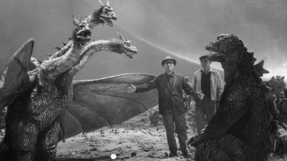 """Eiji Tsuburaya was a visual effects mastermind, and audiences are still reaping the rewards of his genius. As the man behind such classics as """"Godzilla"""" and """"Ultraman,"""" Tsuburaya is the subject of the book """"Eiji Tsuburaya: Master of Monsters."""" Here he runs through the direction of the battle between Godzilla and King Ghidorah in 1965's """"The Great Monster War."""" Click through for a look at more images from the book."""