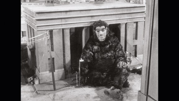 """The King Kong costume constructed for 1962's """"King Kong vs. Godzilla"""" was reused in episode 2 of the Eiji TV series """"Ultra Q,"""" """"Goro and Goroh,"""" as the monster Goro."""