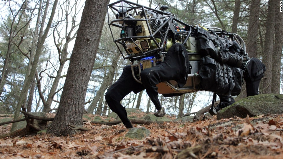 "Something like Q Branch in the James Bond movies, DARPA is constantly working on what it describes as ""radical innovations."" But where James Bond has the character Q to build his exploding pens, DARPA often funds private companies and external organizations to develop its high-tech hardware.<br />It is currently funding research into, among other things, a robot ostrich, a flying car and a plane that could stay airborne for five years at a time.<br />"