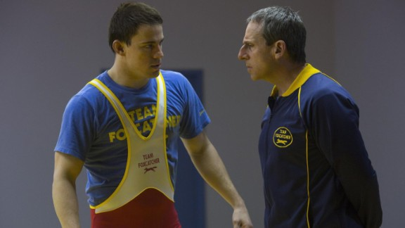 """<strong>""""Foxcatcher""""</strong>: Directed by Bennett Miller, this drama -- inspired by a true story about a pair of wrestling brothers -- has been a critical hit at early film festivals. Reviewers have been raving particularly about career-changing performances from Channing Tatum and Steve Carell. (November 14)"""