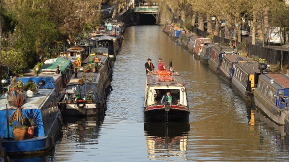 "A houseboat in the English capital will set you back anywhere between $3,000 and $250,000. ""A good, mid-price range for a decent-size narrowboat to live on, second-hand, would be around £50,000 ($80,000),"" says Alan Wildman of the Residential Boat Owners' Association."