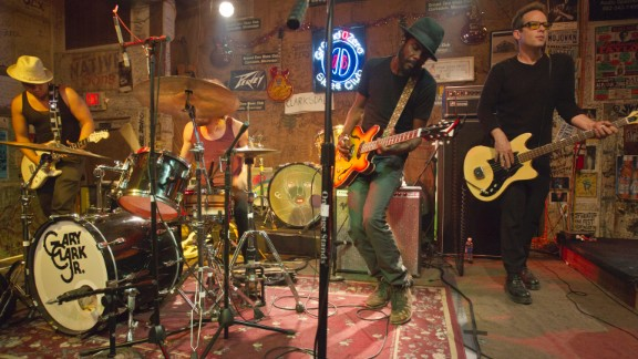 Blues music permeates the Mississippi Delta. Struggles with slavery, segregation, civil rights and poverty in this stretch of the South go hand in hand with the woeful tunes. Guitarist Gary Clark Jr. is shown here performing in Clarksdale.