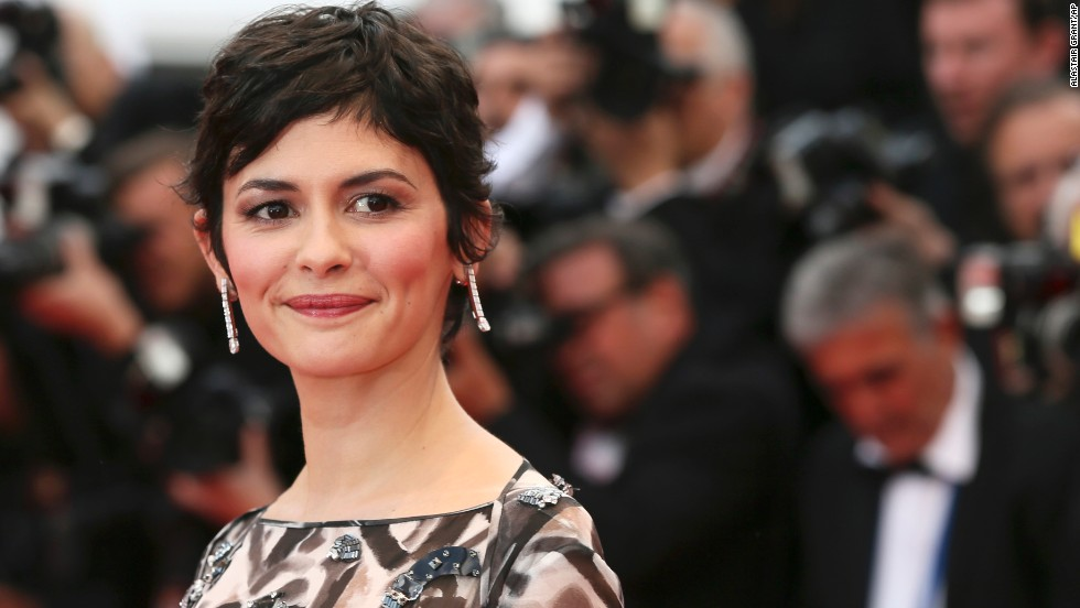 French actress Audrey Tautou on Wednesday, May 14