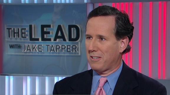 Lead intv Santorum republican tea party politics _00025101.jpg