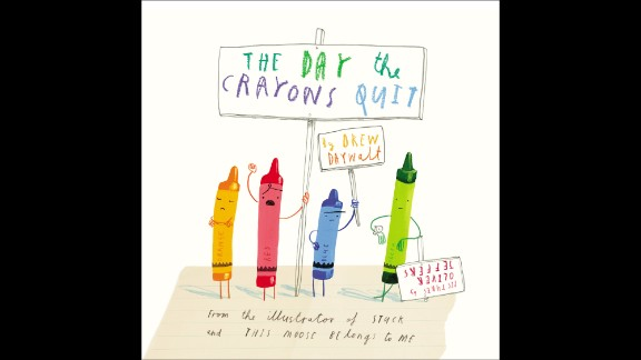 """Book of the year, kindergarten through second grade: """"The Day the Crayons Quit"""" by Drew Daywalt, illustrated by Oliver Jeffers"""