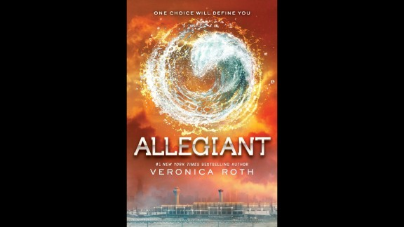 """Book of the year, teens: """"Allegiant"""" by Veronica Roth"""