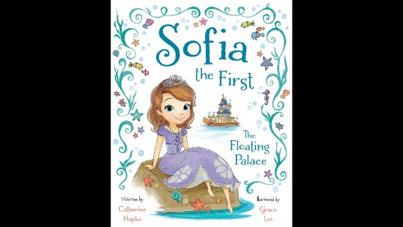 """Illustrator of the year: Grace Lee, """"Sofia the First: The Floating Palace"""""""