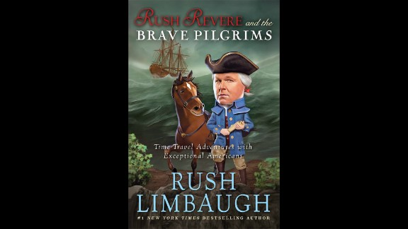 """Author of the year: Rush Limbaugh, """"Rush Revere and The Brave Pilgrims: Time-Travel Adventures With Exceptional Americans"""""""