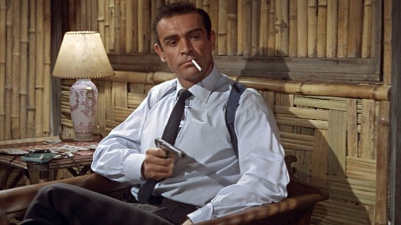 """Before Daniel Craig or Pierce Brosnan, there was Sean Connery, who starred in the first James Bond film, """"Dr. No,"""" in 1962. With the most recent Bond film released in 2012 (""""Skyfall""""), the James Bond series is the longest running film series of all time."""