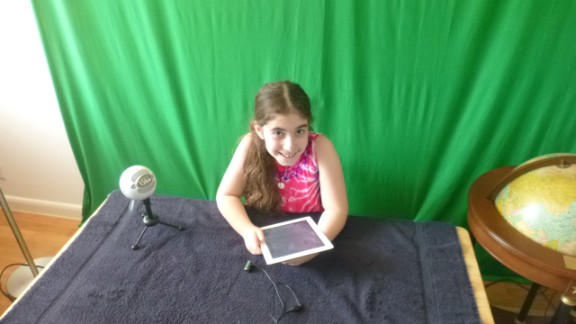 Leila Kaufman, 9, started posting video reviews of tech toys for kids on her website, RethinkToys, and YouTube in 2012. Frustrated that all the toys she wanted were being reviewed by adults, she decided she would create a platform where she could voice her opinion about the toys available to kids.