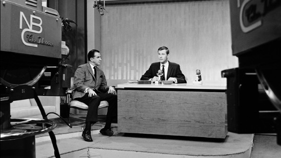 """Johnny Carson, right, took over """"The Tonight Show"""" on October 1, 1962, with co-host Ed McMahon. They retired from the late-night talk show 30 years later.   This year, Saturday Night Live alum Jimmy Fallon became the show's new host after Jay Leno, who hosted the show for 22 years."""