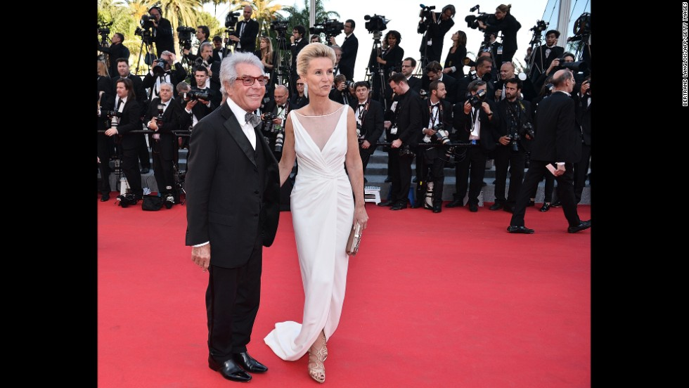 French photographer Jean-Daniel Lorieux and his wife, Laura Restelli Brizard, on May 15