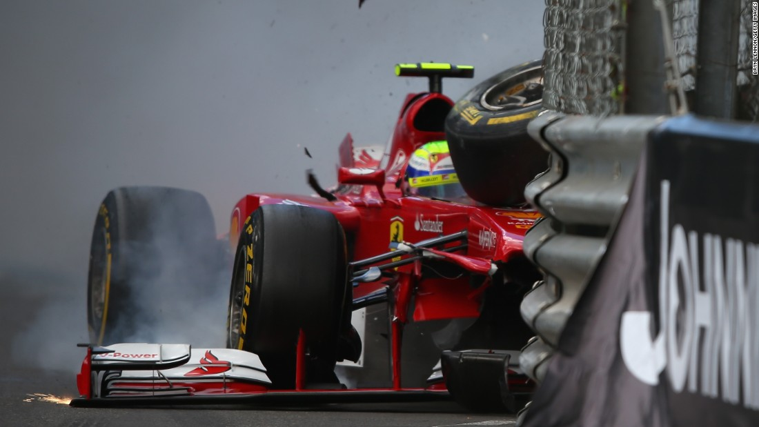 Speculation Massa would lose his drive with Ferrari was quelled with impressive performances in the back-end of 2012, but the following season a number of accidents -- including two in Monaco -- slowed any building momentum for the Brazilian.