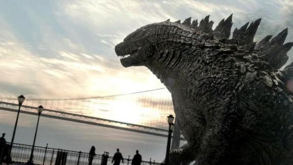 "A scene from from 2014 film ""Godzilla."""