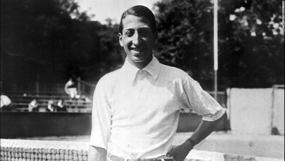 France has a rich Davis Cup history, bolstered by the Four Musketeers. Rene Lacoste, seen here, helped France win its first Davis Cup title in 1927.
