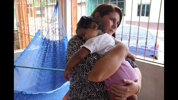 """Corina Montoya hasn't heard from her son in nearly two years, since he left El Progreso, Honduras, for the United States just a few weeks after his daughter was born. His family is desperately searching for him, and fears the worst. """"Everything we have done has been futile,"""" she says."""