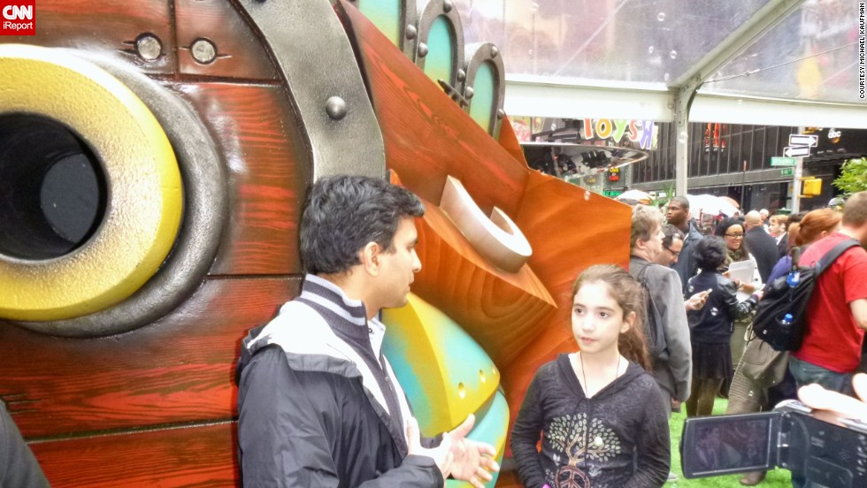 "Leila Kaufman visited the ""Skylanders SWAP Force"" launch event outside a toy store in Times Square, and interviewed Guha Bala, the president of Vicarious Visions, which developed the game. Bala was a young entrepreneur himself; he started Vicarious Visions with his brother while in high school."