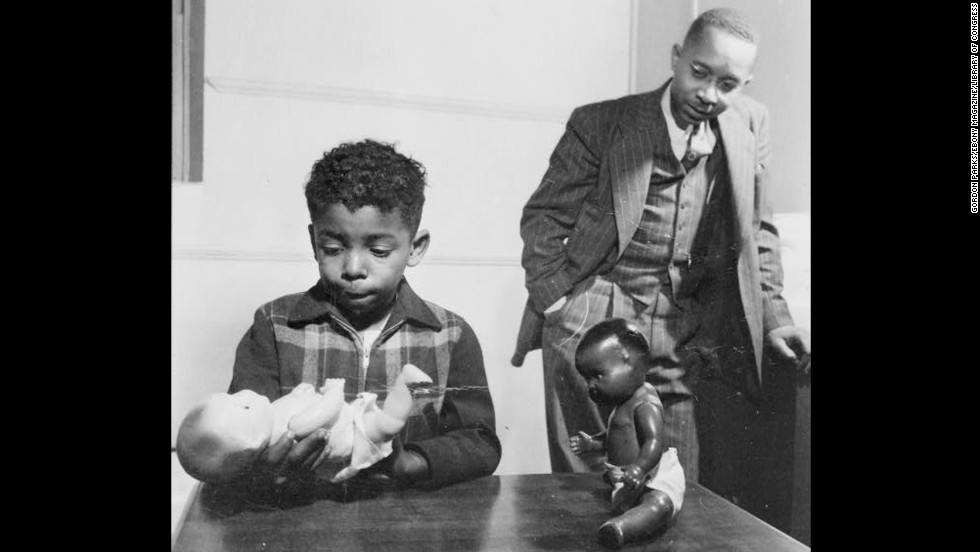 "One of the key pieces presented against segregation was psychologist Kenneth Clark's ""Doll Test"" in the 1940s. Black children were shown two dolls, identical except for color, to determine racial perception and preference. A majority preferred the white doll and associated it with positive characteristics. The court cited Clark's study, saying, ""To separate [African-American children] from others of similar age and qualifications solely because of their race generates a feeling of inferiority as to their status in the community that may affect their hearts and minds in a way unlikely ever to be undone."""