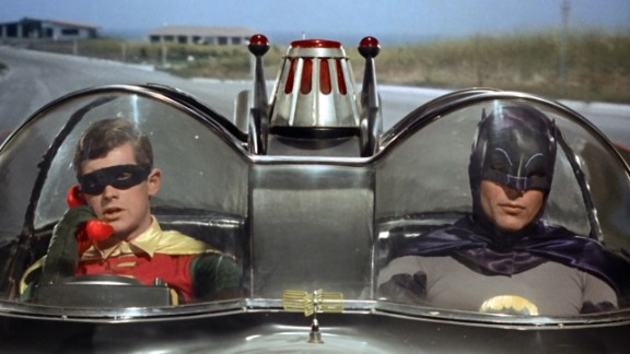 """The """"Batman"""" TV series debuted in 1966, starring Adam West as the Caped Crusader and Burt Ward as his sidekick, Robin. The show aired for only three seasons, but it was a pop culture sensation at the time and a cult classic for future generations. There was also a feature film in 1966."""