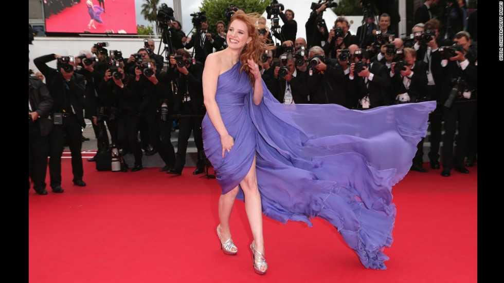 Actress Jessica Chastain on May 19