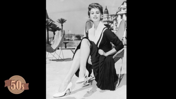 Since its inception in 1947, Cannes Film Festival has always been as much about the fashion as the films. Over seven decades the Cannes carpet has seen its fair share of both fashion faux pas and phenomenons, the highlights of which are documented here; starting with Sophia Loren. One of the early aficionados of Cannes glamor, the Houseboat actress attended the eighth festival in this nautical ensemble. Her simple pleats and modest white heels are a far cry from today