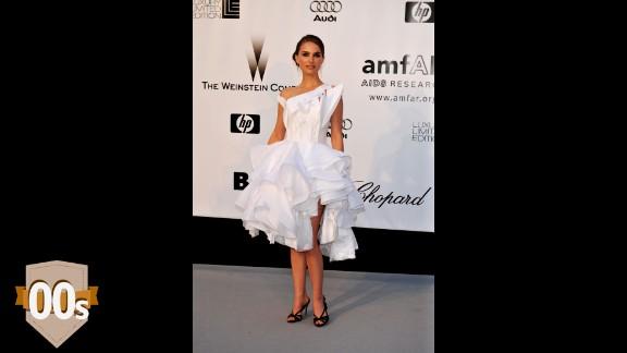 Natalie Portman arrives at amfAR