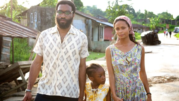 """Directed by Nigerian Biyi Bandele, """"Half of a Yellow Sun"""" is a 2013 romantic drama starring Chiwetel Ejiofor and Thandie Newton."""