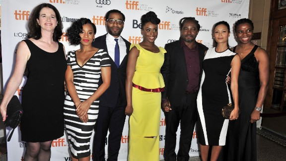 """""""Half of a Yellow Sun"""" premiered during the 2013 Toronto International Film Festival on September 8, 2013 in Toronto, Canada."""