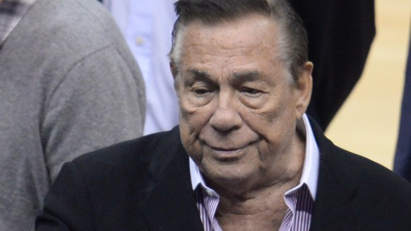 Los Angeles Clippers owner Donald Sterling attends the NBA playoff game between the Clippers and the Golden State Warriors on April 21, 2014 at Staples Center in Los Angeles, California. The NBA banned Sterling for life for 'deeply offensive and harmful' racist comments that sparked a national firestorm. NBA Commissioner Adam Silver hit Sterling with every penalty at his disposal, fining him a maximum $2.5 million dollars and calling on other owners to force him to sell his team. AFP PHOTO / ROBYN BECK (Photo credit should read ROBYN BECK/AFP/Getty Images)