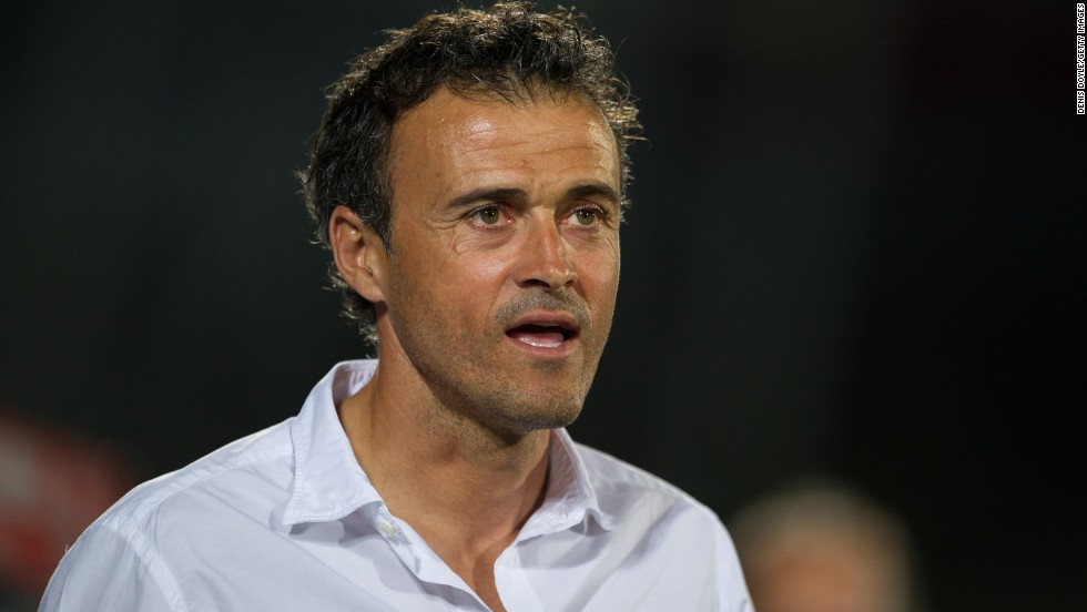 Luis Enrique was appointed as manager of Barcelona in May 2014 after impressing during his spell at Celta Vigo. A former player at the club, Enrique succeeded the late Tito Vilanova.